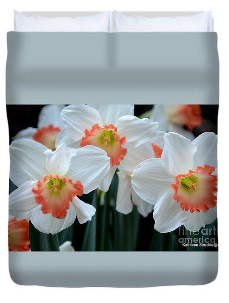 Spring Jonquils Duvet Cover by Kathleen Struckle