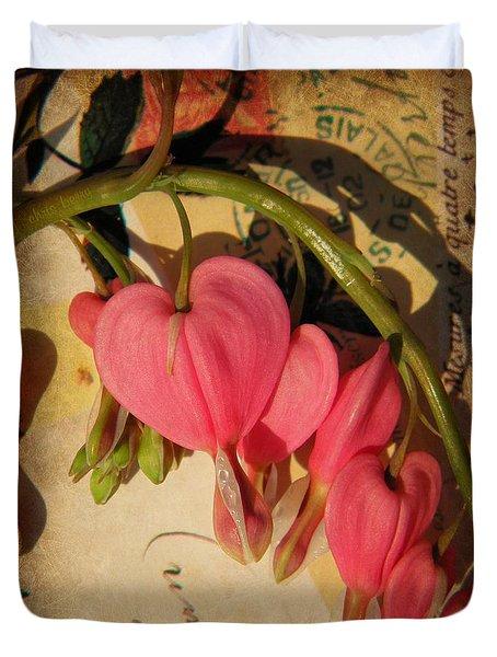 Spring Love Duvet Cover by Chris Berry