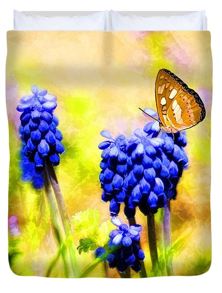 Spring Magic Duvet Cover by Darren Fisher