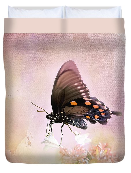 Spring Morning Duvet Cover by Betty LaRue
