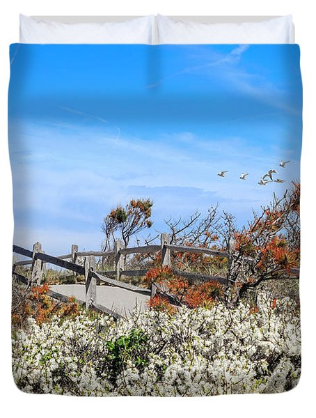 Spring On Cape Cod Duvet Cover