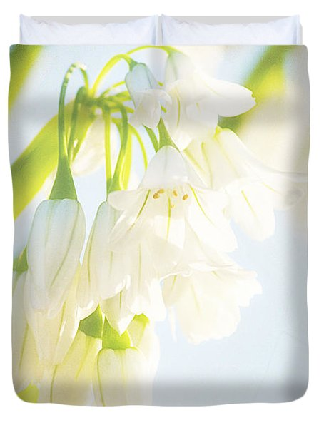 Spring Passes And One Remembers One's Innocence Duvet Cover by Linda Lees