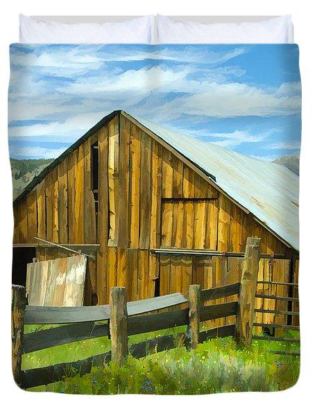 Spring Range Barn Duvet Cover