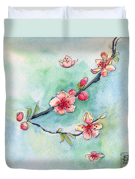 Spring Relief Duvet Cover