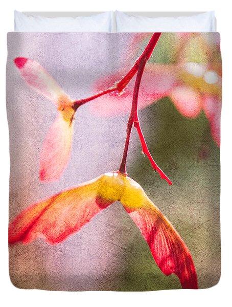 Spring Remembered Duvet Cover by Arlene Carmel