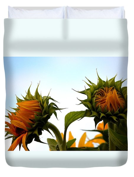 Spring Sun Shine Duvet Cover by Gregory Merlin Brown