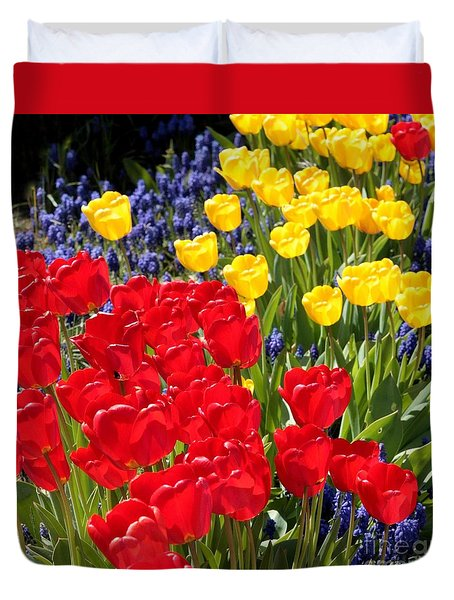 Spring Sunshine Duvet Cover