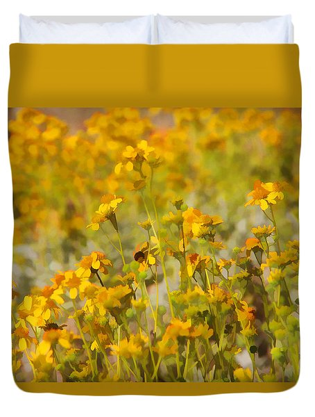Spring Duvet Cover by Tammy Espino