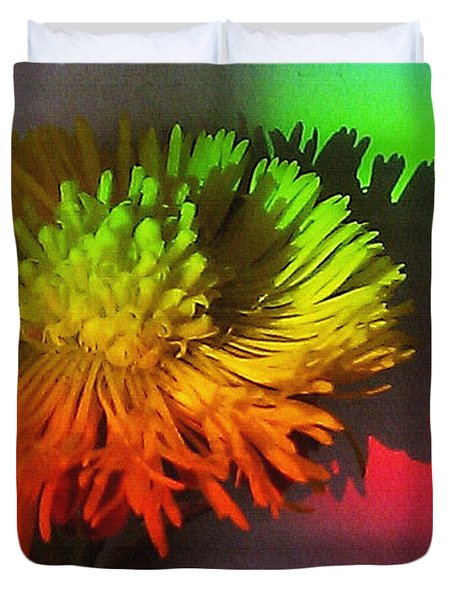 Spring Through A Rainbow Duvet Cover