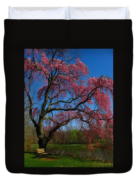 Spring Time Duvet Cover by Raymond Salani III