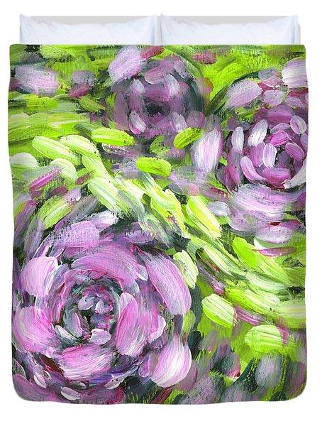 Spring Whirl Duvet Cover
