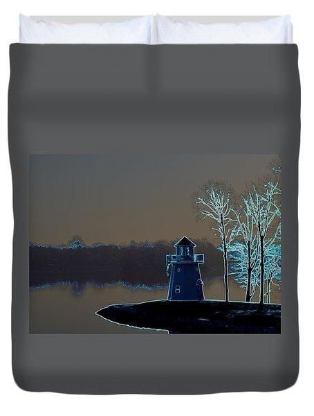 Springfield Lighthouse Duvet Cover