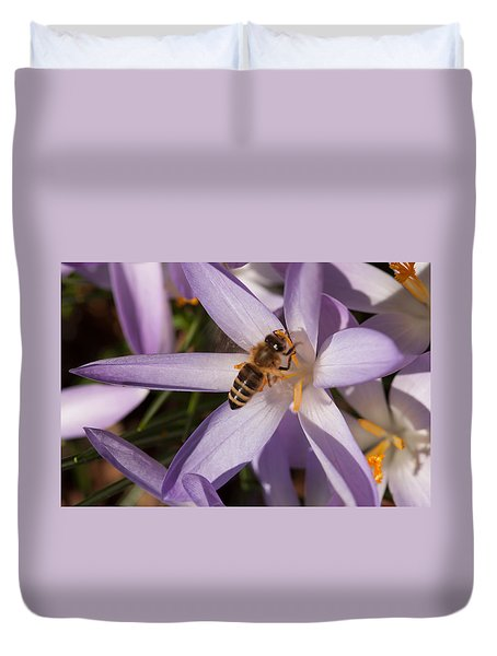 Spring's Welcome Duvet Cover