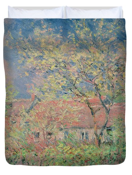 Springtime At Giverny Duvet Cover