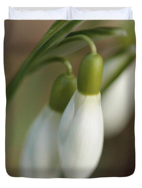 Springtime In Motion Duvet Cover