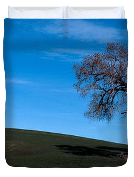 Springtime In The Palouse Duvet Cover by Sharon Elliott