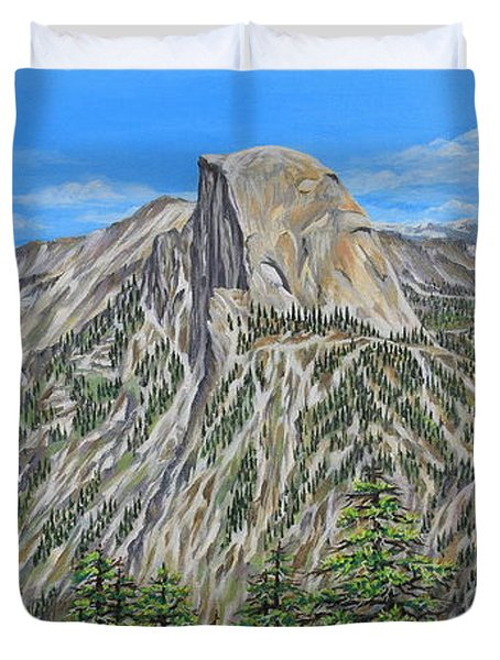 Springtime In Yosemite Valley Duvet Cover