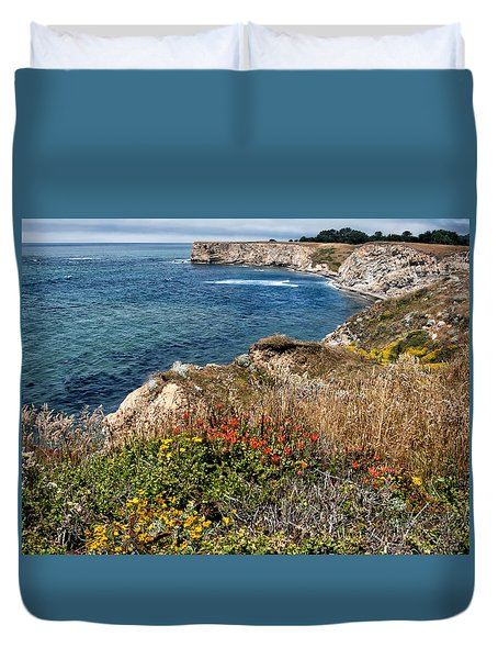 Springtime On The California Coast Duvet Cover