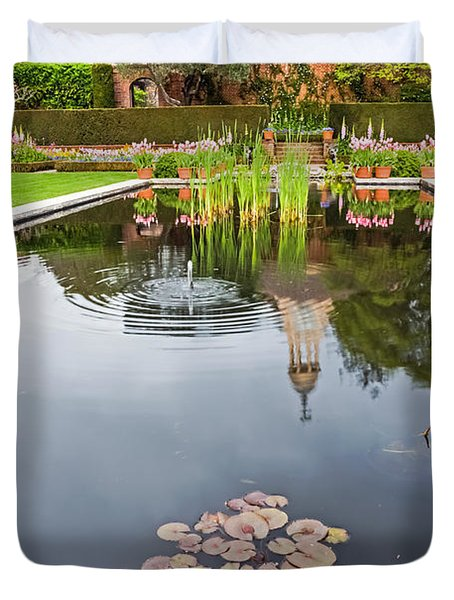 Springtime Reflections Duvet Cover