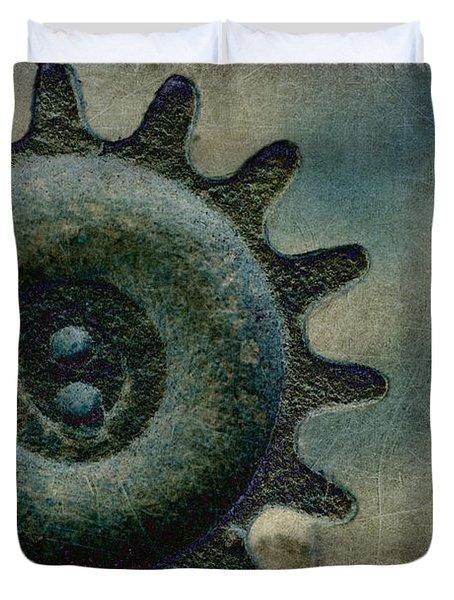 Sprocket Duvet Cover by WB Johnston