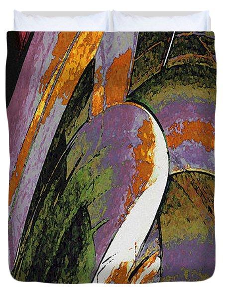 Spruce Goose Duvet Cover