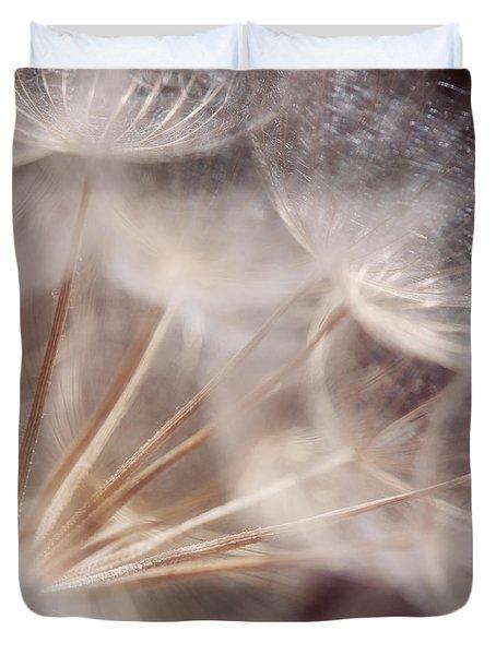 Spun Gold Duvet Cover by Lisa Knechtel