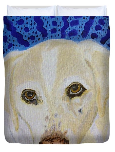 Spunky Duvet Cover by Vicki Maheu