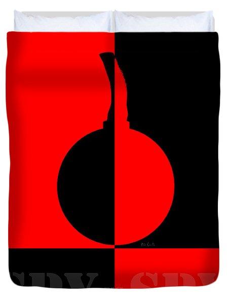 Spy Vs Spy Duvet Cover by Bob Orsillo