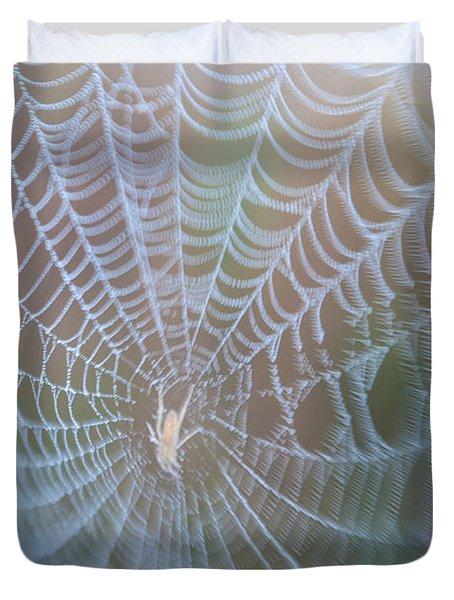 Spyder's Web Duvet Cover
