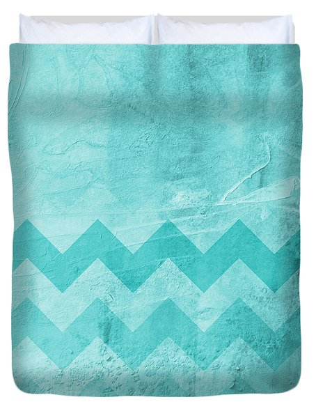 Square Series - Marine 1 Duvet Cover