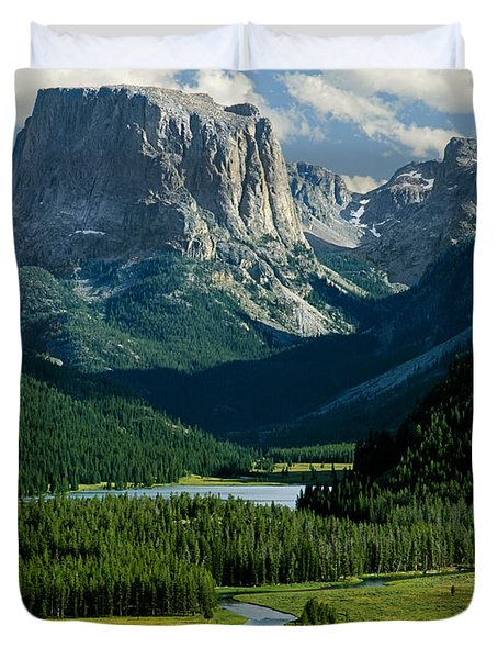 Squaretop Mountain 3 Duvet Cover