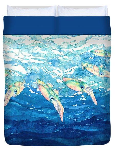 Squid Ballet Duvet Cover