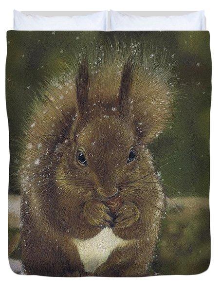 Squirrel Nutkin Duvet Cover