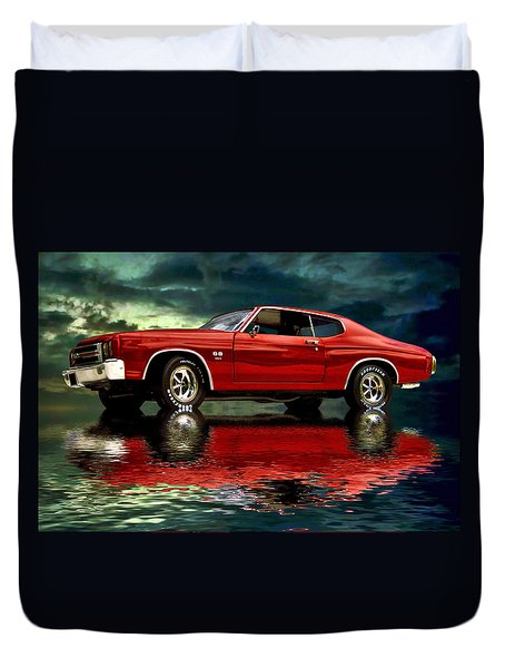 Chevelle 454 Duvet Cover