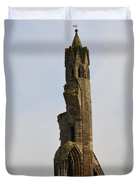 St Andrew's Cathedral Ruins Duvet Cover
