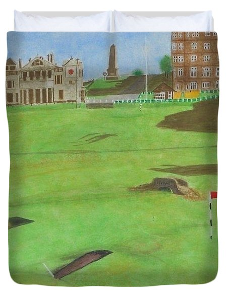 St. Andrews Duvet Cover