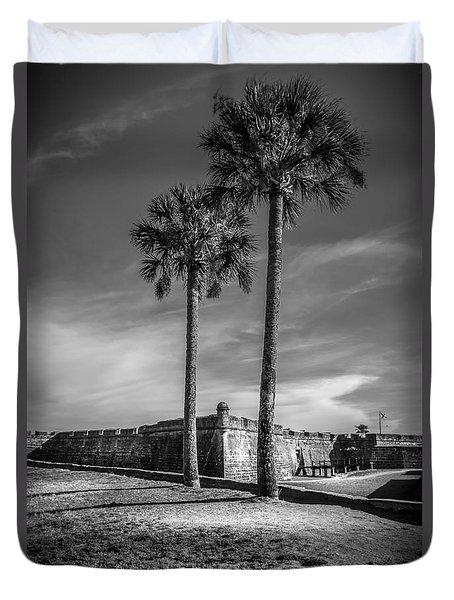 St. Augustine Fort Duvet Cover