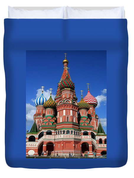 St. Basil's Cathedral Duvet Cover