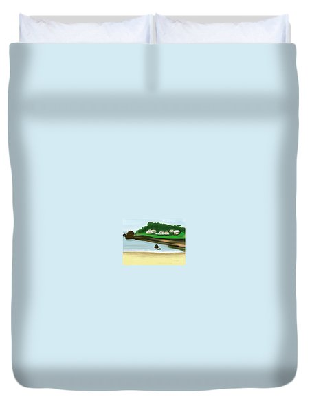A Peaceful Life  Duvet Cover