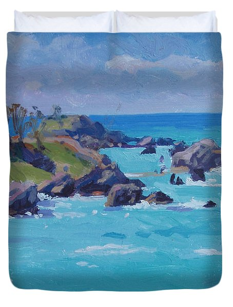 St Catherines Duvet Cover by Dianne Panarelli Miller