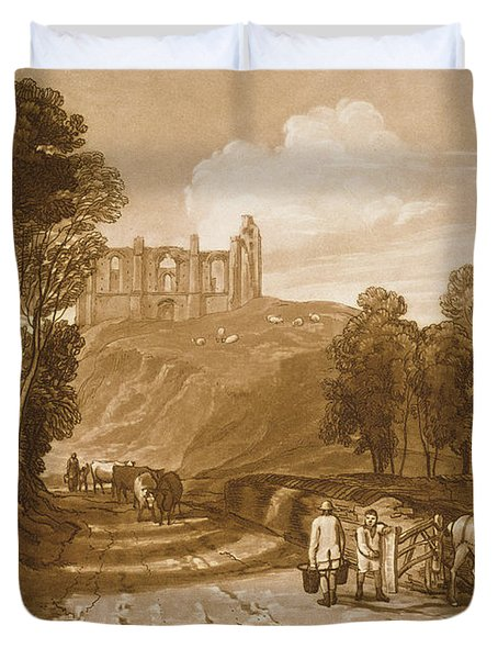 St Catherines Hill Near Guildford Duvet Cover by Joseph Mallord William Turner