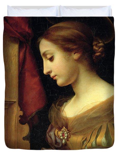 St. Cecilia Duvet Cover