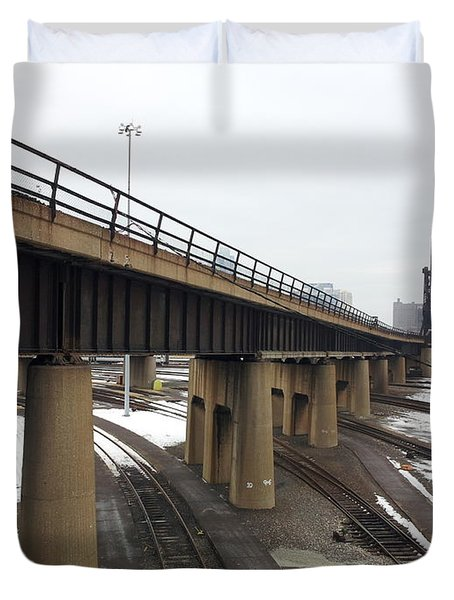 St. Charles Airline Bridge Duvet Cover