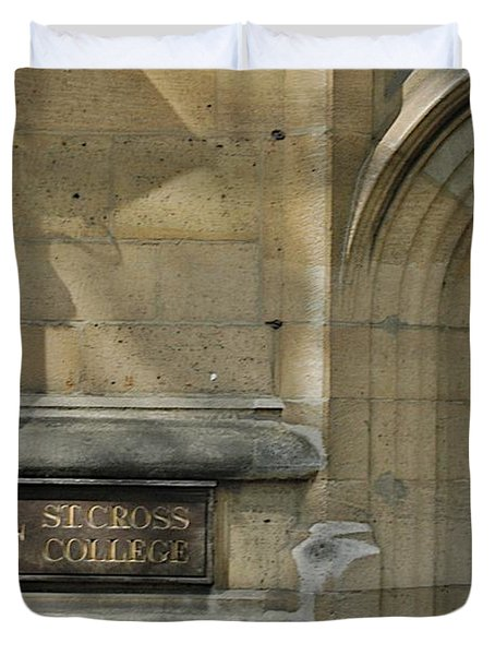 St. Cross College Duvet Cover by Joseph Yarbrough