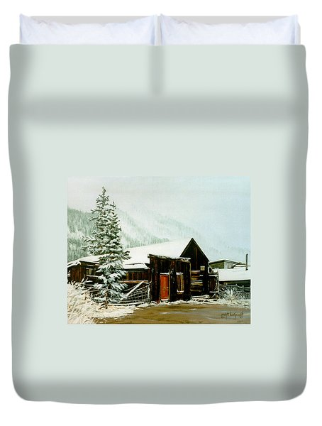 St Elmo Snow Duvet Cover