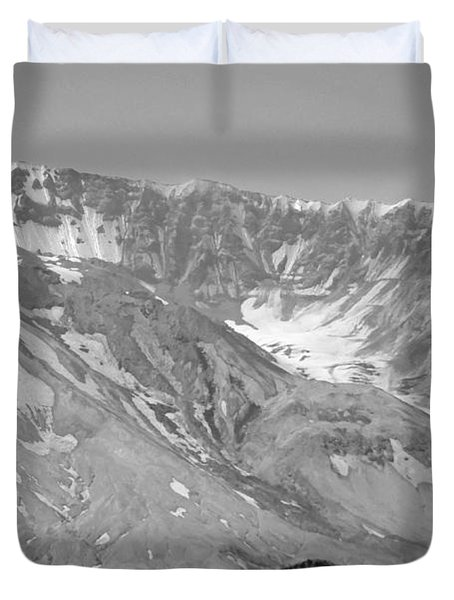 St. Helen's Crater Duvet Cover by Tikvah's Hope