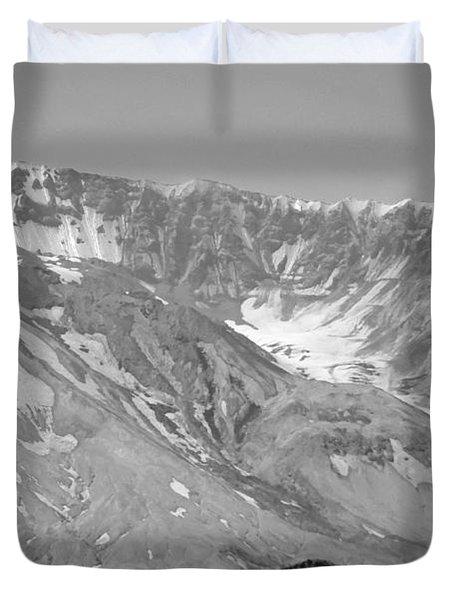 St. Helen's Crater Duvet Cover