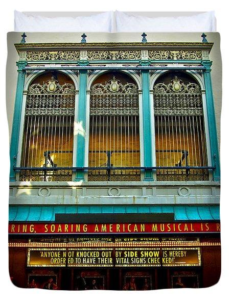 St. James Theatre Balcony Duvet Cover