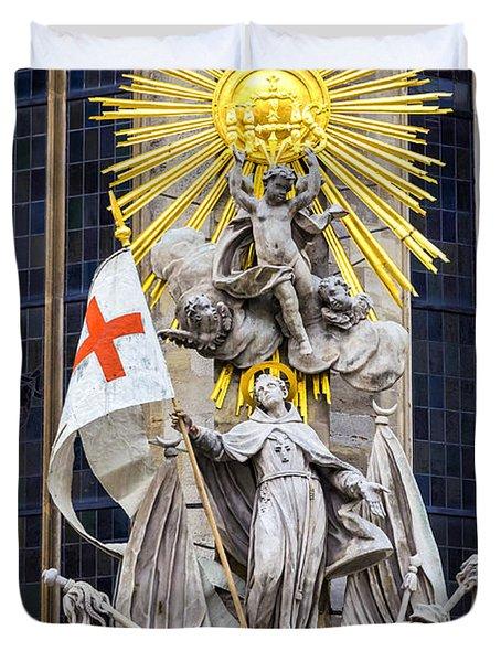 St. John Of Capistrano In Vienna Duvet Cover