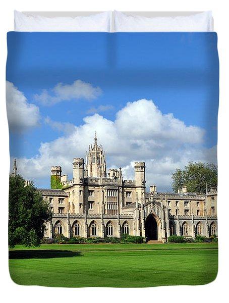 St. John's College Cambridge Duvet Cover